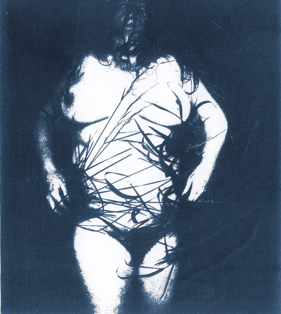 screen print feminist art activism female nude